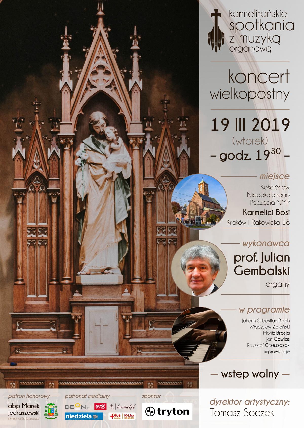 Koncert organowy Józef