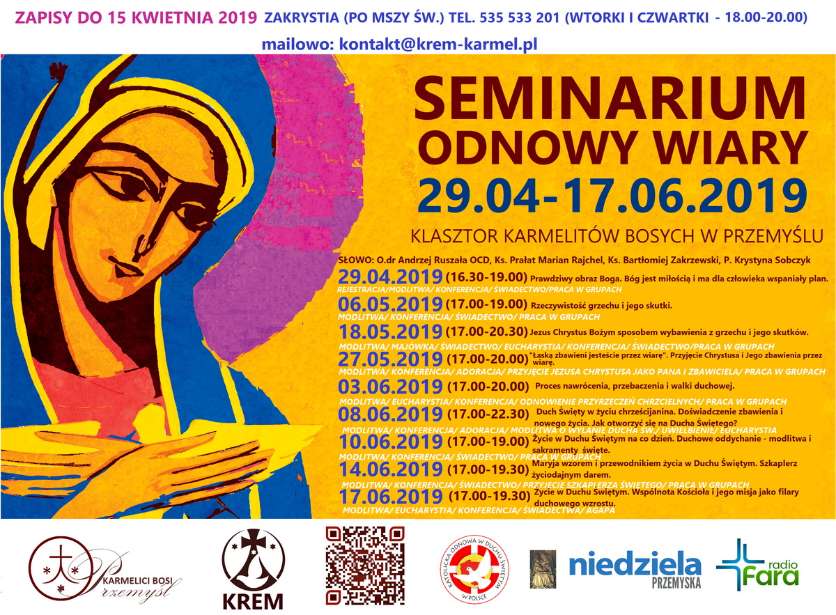 plakat seminarium KREM 2019