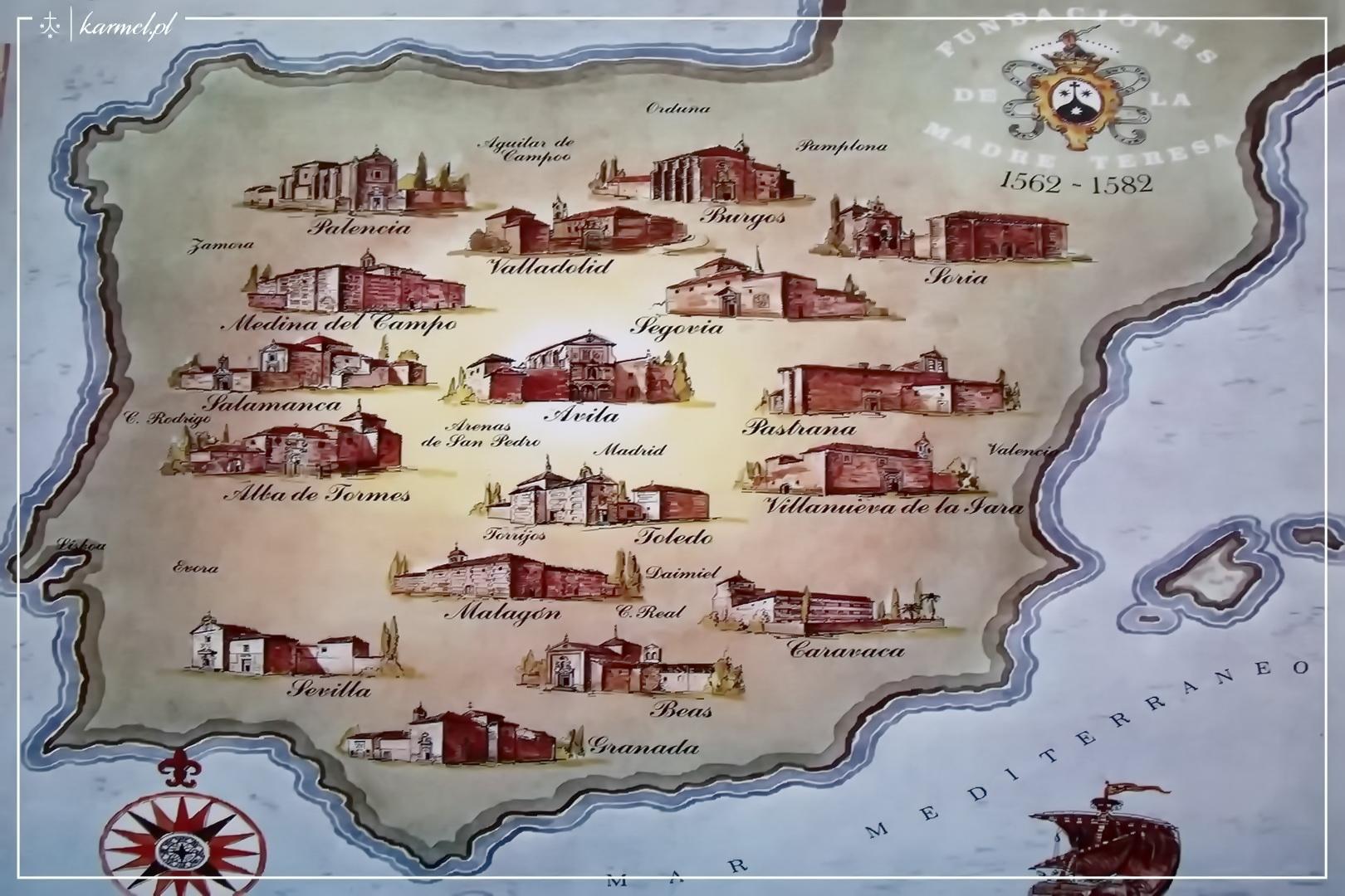 0 mapa fundacje